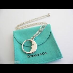 NWT Tiffany's Moon Necklace